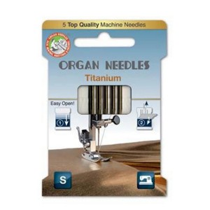 Organ Needle - Titanium - Size 90