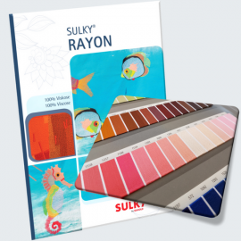 Sulky Rayon Thread Shade Card